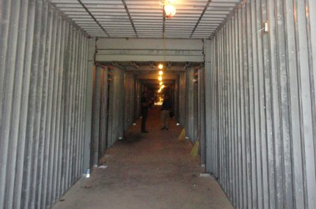 School Corridor during construction of Remagen Safe Room System