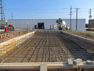 The U.S. Army Corps of Engineers contractor formed and reinforced foundation slabs in accordance with RemagenSafeRooms foundation drawings for the safe room.