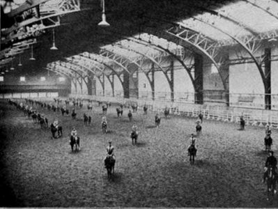 Largest Riding Hall in the World (interior)